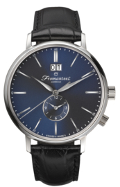 Fromanteel Horloge Generations TwinTime Blue 42mm