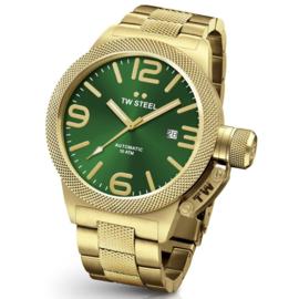 TW Steel CB225 Canteen Bracelet Automaat Horloge 45mm