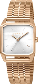 Esprit Cube Gold Damenuhr 29 mm