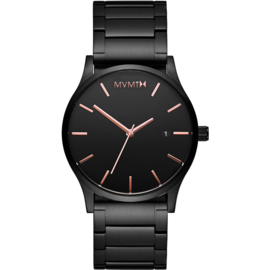 MVMT Classic Black Rose Horloge 45 mm
