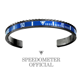 Speedometer Official Armband SBR2356B Blue/Black