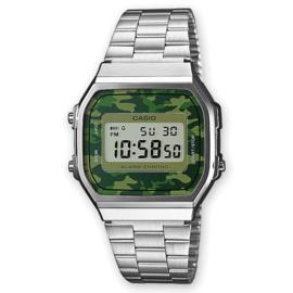 Casio Vintage Collection Horloge Camo Groen A168WEC-3EF 35mm