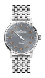 Meistersinger Phanero Mechanisch horloge Grijs - 35mm