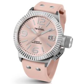 TW Steel TW540 Canteen Fashion Roze Horloge 45mm