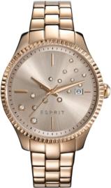 Esprit Phoebe Gold Tone horloge 36 mm