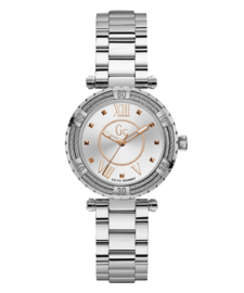 Gc: Guess Collection Lady Diver Cable  Dameshorloge 34mm