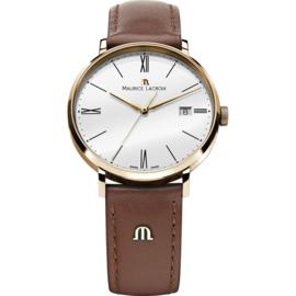 Maurice Lacroix Eliros Edelstahl-Uhr mit Datumsanzeige 38 mm