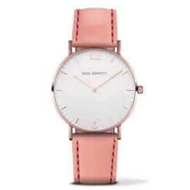 Paul Hewitt Horloge Sailor Watch Rose Gold White Sand 36 mm
