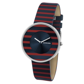 Lambretta Cielo Stripes Red Horloge 37 mm