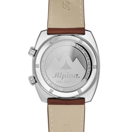 Alpina Startimer Pilot Heritage GMT Swiss Made Automatic Horloge 42mm