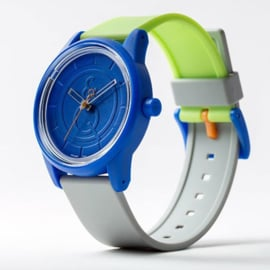 Q&Q Smile Solar Series 001 Duurzaam Horloge 40mm