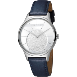 Esprit Grace Silver Blue horloge 34 mm