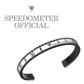 Speedometer Official Armband SBR0766B Black/White