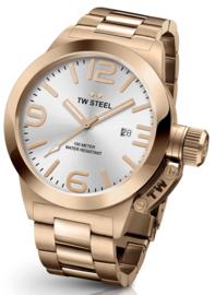TW Steel CB1612 Canteen Bracelet Horloge 50mm