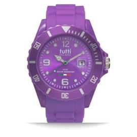 Tutti Milano Pigmento Horloge Paars 42,5mm