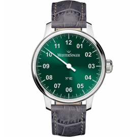 Meistersinger No.2 Herenhorloge Groen - 43mm