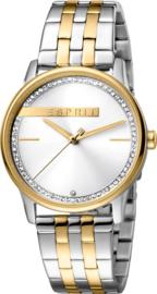 Esprit Rock Silver/Gold horloge 34 mm