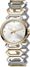 Esprit Arc Silver/Gold Dameshorloge 28mm