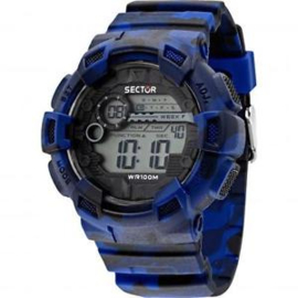 Sector Expander Street Fashion Digital Horloge 50 mm
