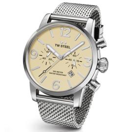 TW Steel MB03 Maverick Bracelet Chronograaf Horloge 45mm