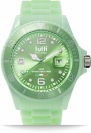 Tutti Milano Pigmento Horloge Mintgroen 42,5mm