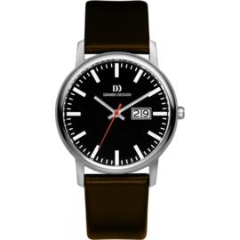 Danish Design Horloge Datum Saffier 38mm Titanium IQ13Q974