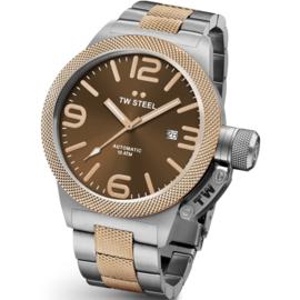 TW Steel CB156 Canteen Bracelet Automaat Horloge 50mm