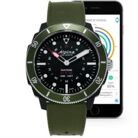 Alpina Seastrong Horological Smartwatch Fiberglass 44mm