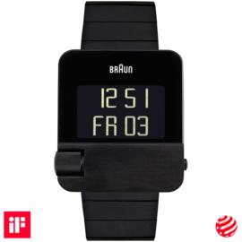 Braun Prestige Digital  Horloge 37 x 42mm Zwart - BN0106BKBTG