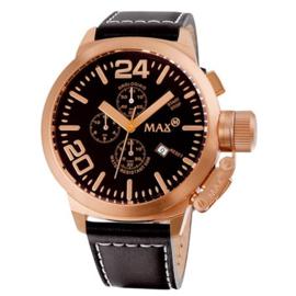 Max Watches Classic  Chronograaf Horloge RVS 52mm