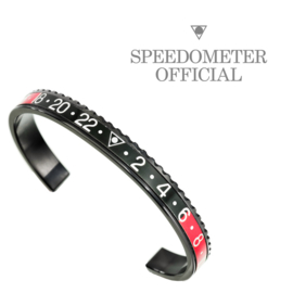 Speedometer Official Armband SBR0901B Black/Red