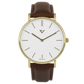 Prisma 100%NL Horloge Edelstaal 40mm