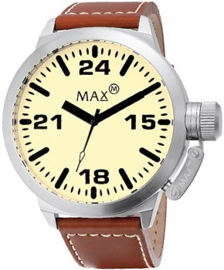 Max Watches Classic Herenhorloge RVS 42mm