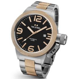 TW Steel CB135 Canteen Bracelet Automaat Horloge 45mm