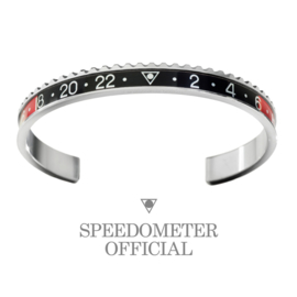 Speedometer Official Armband SBR0901 Black/Red