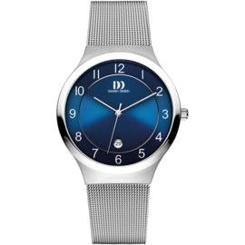 Danish Design Horloge Datum Saffier 38mm Staal IQ69Q1072