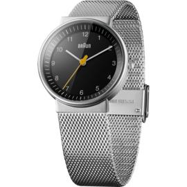 Braun Horloge 32mm Zwart - BN0031BKSLMHL