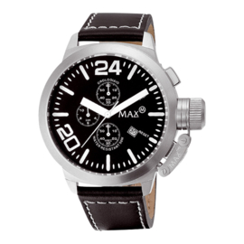 Max Watches Chronograaf Horloge RVS 42mm