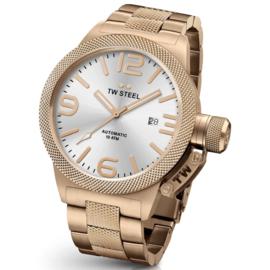 TW Steel CB165 Canteen Bracelet Automaat Horloge 45mm