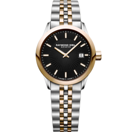 Raymond Weil Freelancer Dameshorloge Staal Saffier 28mm