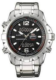 Orient Titanium Digital Alarm Chronograph horloge  40 mm