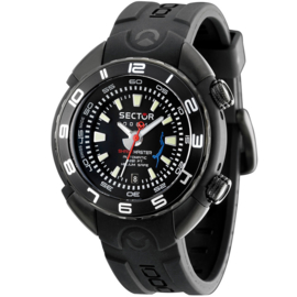 Sector Shark Master 1000m Helium Safe Automatic 48mm