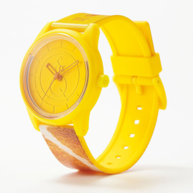 Q&Q Smile Solar Red List Giraffe Uhr 40mm