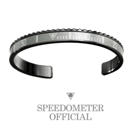 Speedometer Official Armband SBR0582B Black/Silver