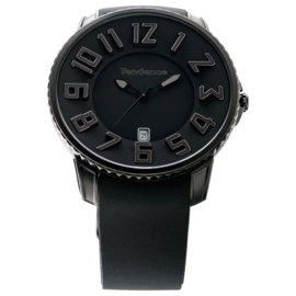 Tendence Gulliver Slim Uhr All Black 10ATM XL