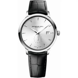 Raymond Weil Toccata Horloge Leer Saffier 39mm