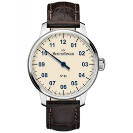 Meistersinger No.2 Herenhorloge Ivoor - 43mm
