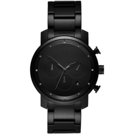 MVMT Chrono Midnight Black Horloge 40 mm