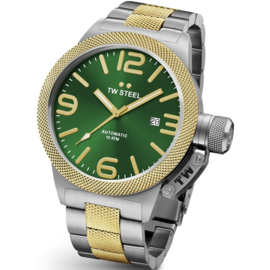 TW Steel CB66 Canteen Bracelet Automatic  XL Uhr 50mm