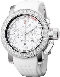 Max Watches Sports Chronograaf Horloge RVS 47mm